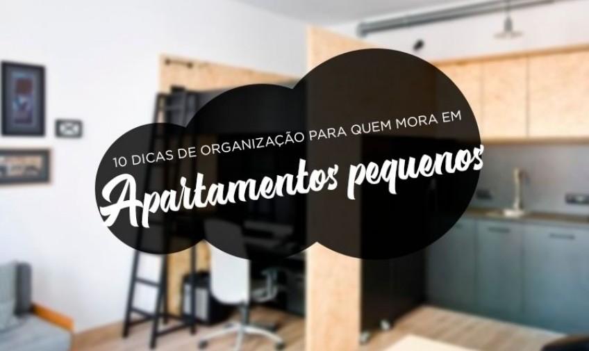 10 dicas de organização para quem mora em apartamentos pequenos